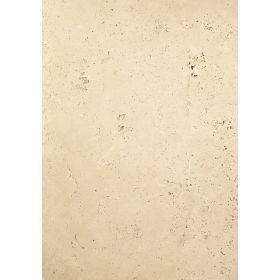 Płytki trawertyn kamienne naturalne podłogowe ozdobne trawertynowe szczotkowany Ivory Classic Beżowy 61x40,6x1,2 cm