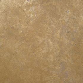 Płytki trawertyn kamienne naturalne podłogowe ozdobne trawertynowe szpachlowany Walnut Dark