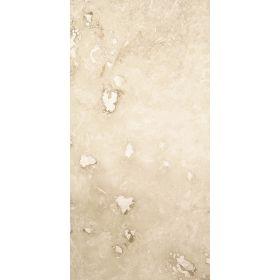 Płytki trawertyn kamienne naturalne podłogowe ozdobne trawertynowe szpachlowany Ivory Beżowy kamień naturalny 61x30,6x1,2