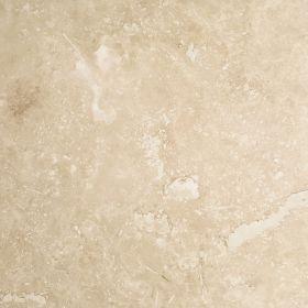Płytki trawertyn kamienne naturalne podłogowe ozdobne trawertynowe szpachlowany Ivory Beżowy kamień naturalny 61x61x1,2 cm