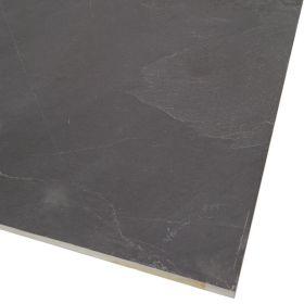 Kamień Elewacyjny Dekoracyjny Ścienny Ozdobny Naturalny  Płytki Łupek Black 60x30x1 cm