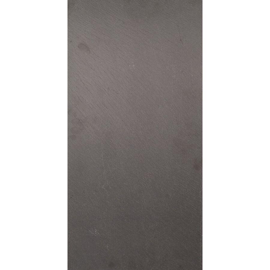 Kamień Elewacyjny Dekoracyjny Ścienny Ozdobny Naturalny  Płytki Łupek Black szczotkowany 60x30x1 cm