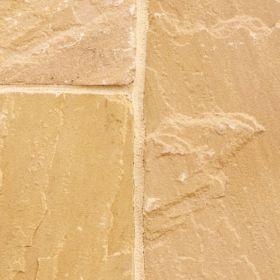 Piaskowiec Płytki Kamienne Naturalne Taras Elewacja Podłoga Gold