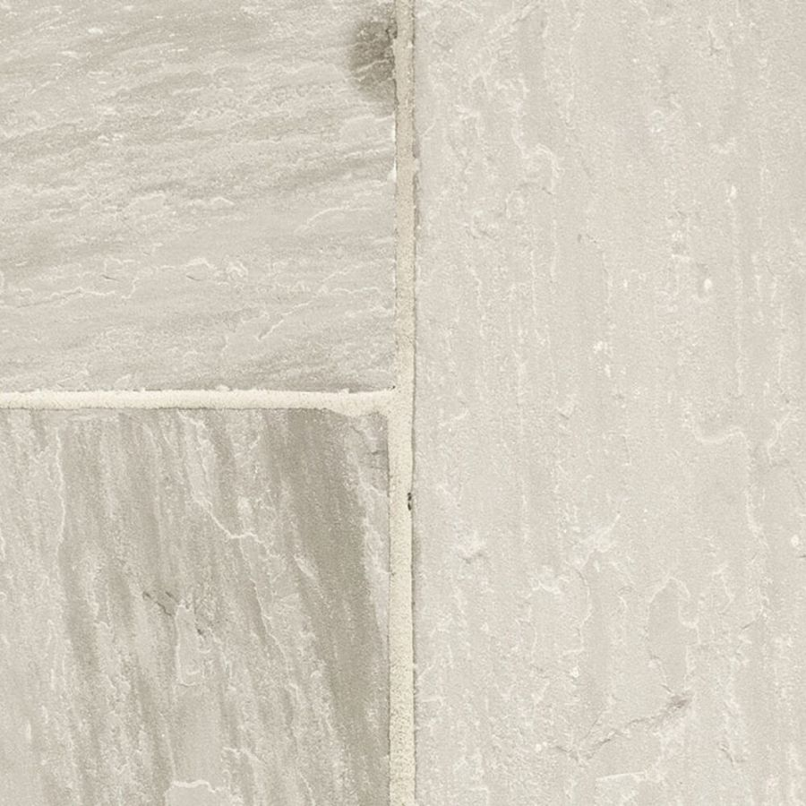 Piaskowiec Płytki Kamienne Naturalne Taras Elewacja Podłoga Szary Grey