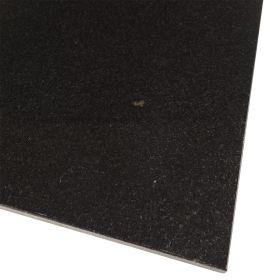Czarne płytki granitowe kamienne absolut black