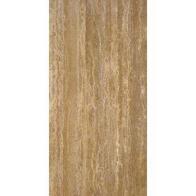 Płytki trawertyn kamienne naturalne podłogowe szpachlowany Walnut Dark 60x30x1,5