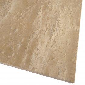 Płytki trawertyn kamienne naturalne podłogowe szlifowane Ivory Classic 60x30x1,5