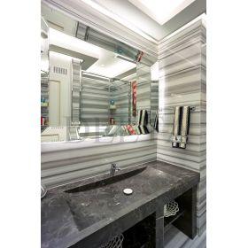 płytki marmurowe zebra łazienka