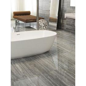 płytki marmurowe polerowane łazienka wood grey