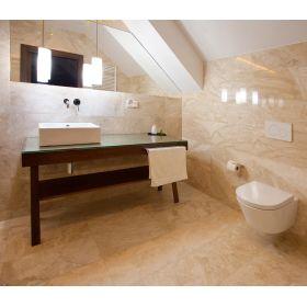 płytki marmurowe diana royal polerowane łazienka 61x40,6