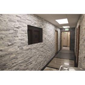 panel ścienny kamień dekoracyjny bianco grey naturalny biało szary