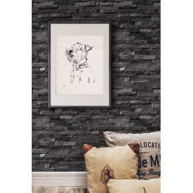 czarny-panel-scienny-kwarcyt-kamien-dekoracyjny-2