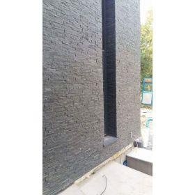 czarny-panel-scienny-kwarcyt-kamien-dekoracyjny-naturalny