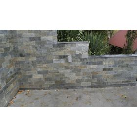 kamień dekoracyjny ścienne naturalny silver shine 10x30