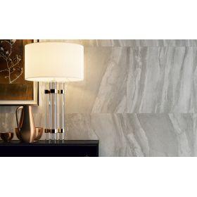 płytka ceramiczna gres Canyon Grigio szkliwiona polerowana Marmara Płytka podłogowa imitacja marmuru