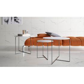 płytki ceramiczne gresowe podłogowe marmara bianco river 120x60 imitacja marmuru