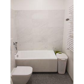 płytki marmurowe snow white biały marmur kamień naturalny 61x30,5x1,2 cm