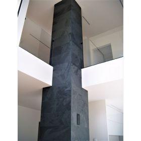 płytki z łupka brazylijskiego nero black czarny kamień naturalny 80x40
