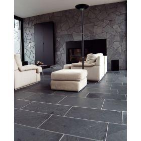 czarny łupek nero black 60x30 kamień naturalny