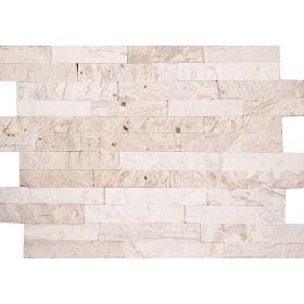 kamień dekoracyjny elewacyjny panel ścienny Kwarcyt White Gold