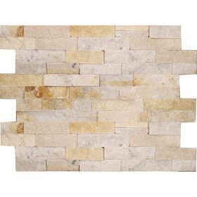 kamień dekoracyjny elewacyjny panel ścienny Kwarcyt Ivory