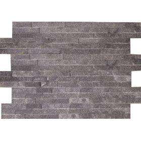 kamień dekoracyjny elewacyjny panel ścienny Kwarcyt Grey Szary