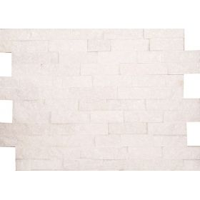kamień dekoracyjny elewacyjny panel ścienny Kwarcyt White Biały