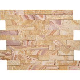 kamień elewacyjny dekoracyjny ścienny zewnętrzny piaskowiec teakwood