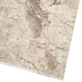 Płytki marmurowe kamienne naturalne podłogowe polerowany Silver Shadow  61x40,6x1,2 cm