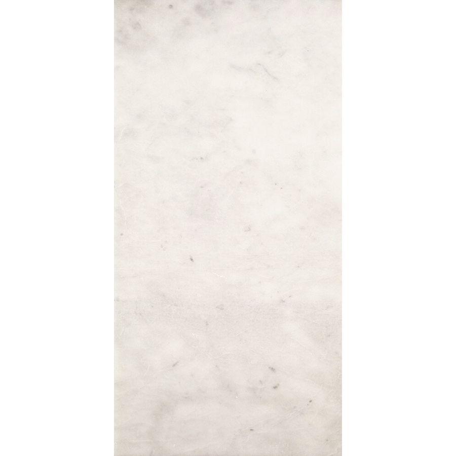 Płytki marmurowe kamienne naturalne podłogowe polerowany mugla biały 61x30,5x1,2 cm