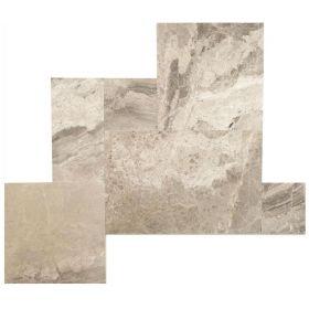 Płytki marmurowe roman układ rzymski Silver Shadow kpl.