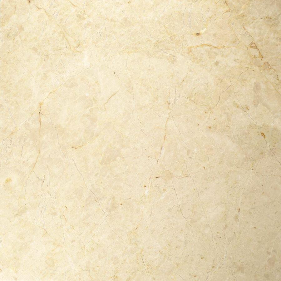 Płytki marmurowe kamienne naturalne podłogowe Royal Beige matowy 60x60x1,8 cm szczotkowane