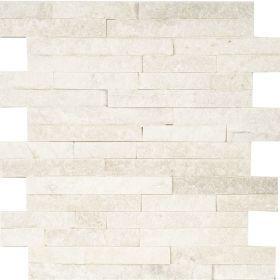 panel dekoracyjny ścienny elewacyjny kamień naturalny kwarcyt white biały