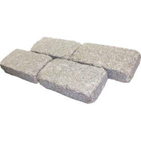 kostka granitowa kamień naturalny ogrodowy 20x10x5 cm bębnowana chodnik