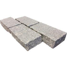 kostka granitowa kamień naturalny ogrodowy crystal pearl szary cięty łupany