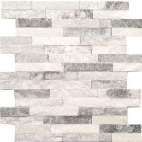 panel dekoracyjny ścienny elewacyjny kamień naturalny kwarcyt cloud grey biało szary