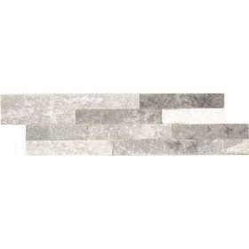 panel dekoracyjny ścienny elewacyjny kamień naturalny kwarcyt Bianco grey