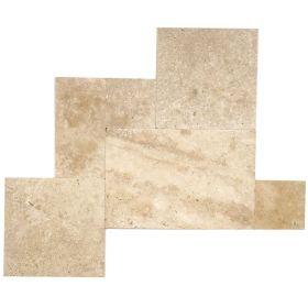 płytki kamienne classic trawertyn kamień naturalny układ rzymski