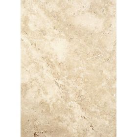Płytki trawertyn kamienne naturalne podłogowe ozdobne trawertynowe szczotkowany Ivory Classic Beżowy 61x40,6x1,2 cm kamień