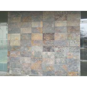 płytki łupek kamień elewacyjny multicolor 60x30