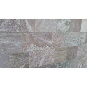płytki kwarcytowe steel grey kamień naturalny szary płomieniowany