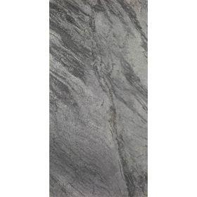 płytki kamienne łupek naturalne szlifowane podłogowe 60x30 silver grey
