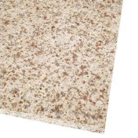 Płytki granitowe kamienne naturalne Yellow Pink Sunrise G682 60x60x2 cm płomieniowane schody