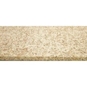 Stopnie schody granitowe kamienne naturalne zewnętrzne płomieniowane Sunrise Yellow Pink 150x33x2 cm