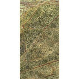 Płytki marmurowe kamienne naturalne podłogowe polerowany Rain Forest Green 61x30,5x1,2 cm