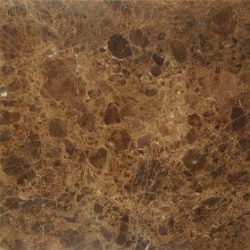 Płytki marmurowe kamienne naturalne podłogowe Emperador Brown polerowane 60x60x2 cm