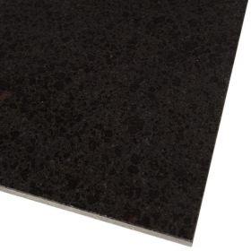 Płytki granitowe bazalt kamienne naturalne Ctystal Black Twilight 60x60x1,5 polerowane