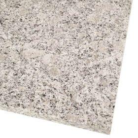 Płytki granitowe kamienne naturalne Crystal Pearl G384 60x40x2 cm płomieniowane na szare schody