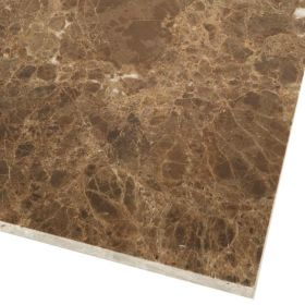 Płytki marmurowe kamienne naturalne podłogowe Emperador Brown polerowane Hiszpania
