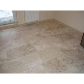 Płytki marmurowe naturalne podłogowe polerowane 30x60x1,5 cm Daino reale Breccia